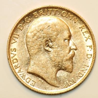 1909 Edward VII Half Sovereign