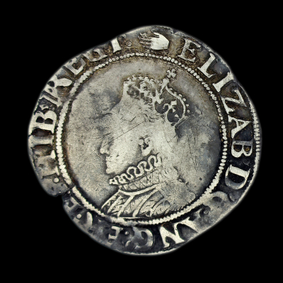 Elizabeth Ist 6th Issue Shilling