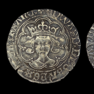 Edward IV Second reign Groat