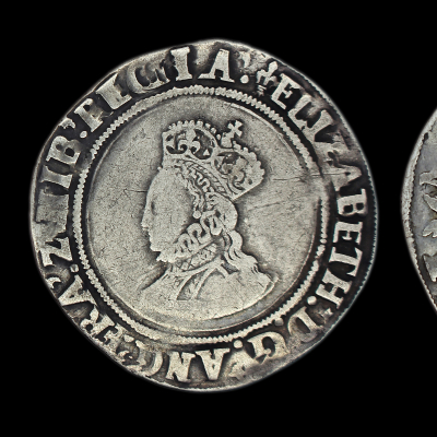 Elizabeth Ist First Issue Shilling