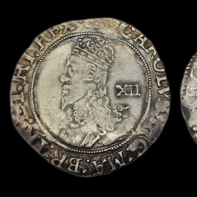 Charles Ist Tower Mint Shilling Type 4.2