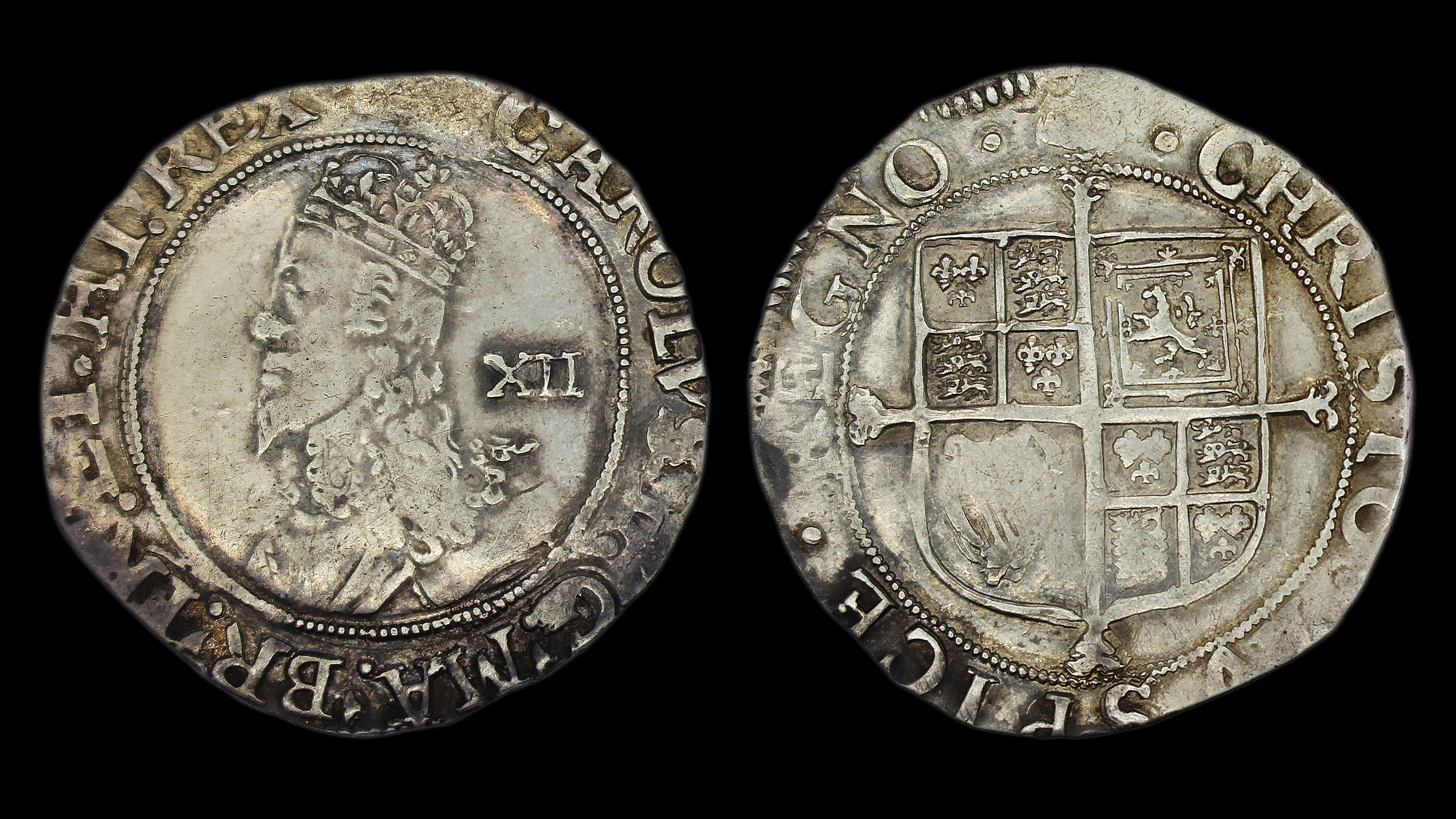 Charles Ist Tower Mint Shilling Type 4 2 Gm Coins