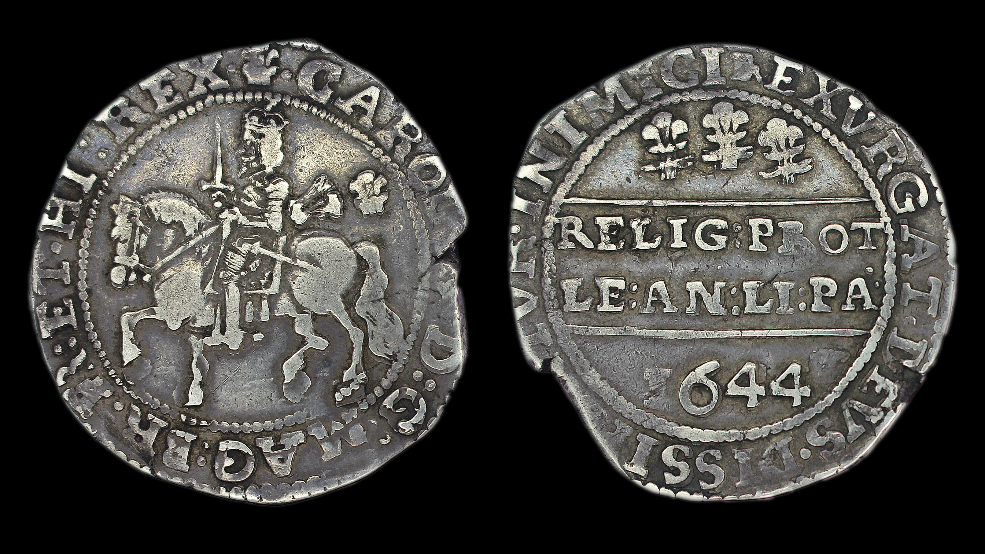 Silver Plume Co >> Charles Ist Half Crown Bristol - GM Coins | Premier UK Coin Dealers