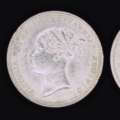 Victoria Young Head Sixpence