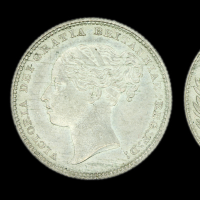 Victoria Young Head Shilling 1883