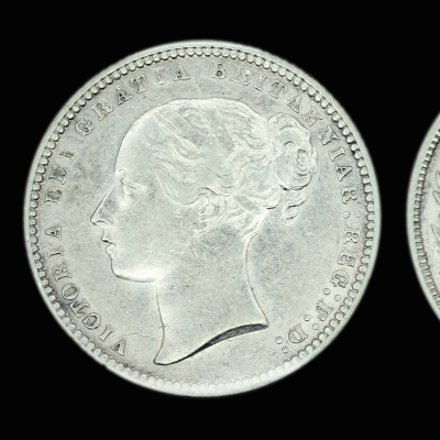 Victoria Young Head Shilling 1872