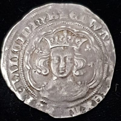 Edward III Groat PRe Treaty With French Titles