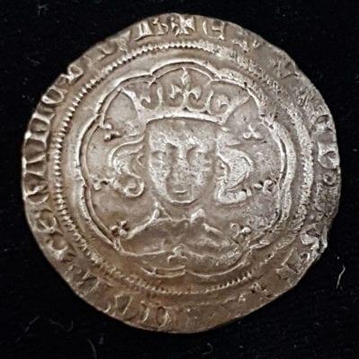 Edward III Pre Treaty Groat Obverse