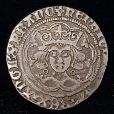 Henry VI Annulet Issue Groat Obverse