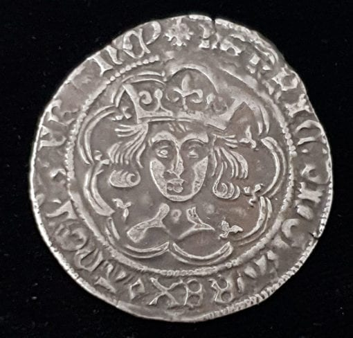 Henry VI First Reign Groat Pinecone Mascle