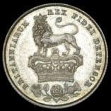1825 Shilling Reverse