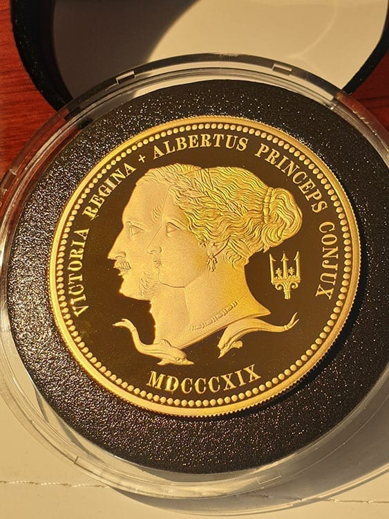 The 200th Anniversary of the Birth of Queen Victoria 2019 UK Gold Proof