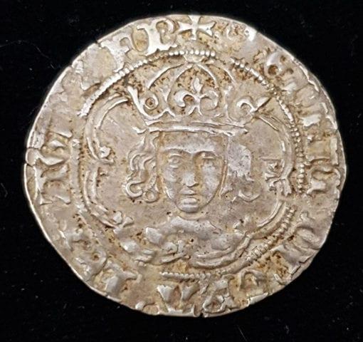 Henry VII Facing Portrait Groat