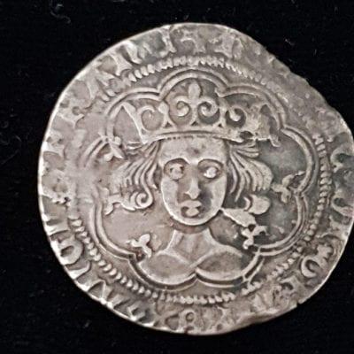 Henry VI Groat Rosette Mascle
