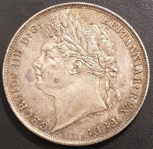 George IV First Laur. Head 1821 Shilling