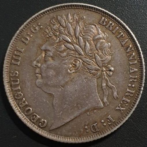 George IV First Laur. Head 1821 Shilling