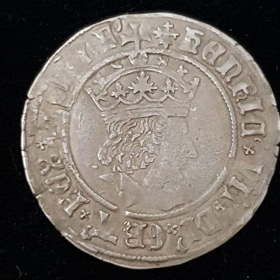 Henry VII Profile Groat