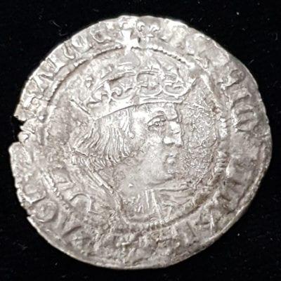 Henry VIII Groat Laker Bust D