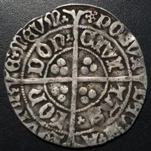 Henry VII Facing Portrait Groat London