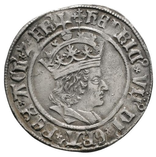 Henry VII (1485-1509), Regular issue (1504-5), profile bust with triple band to crown, HENRIC VII DI GRA REX AGL Z FR, legend, mintmark cross-crosslet