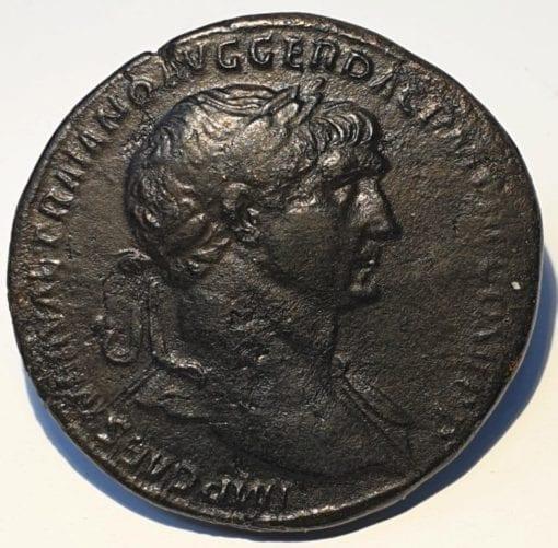 Trajan Sestertius. 103-111