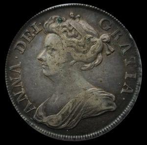 Anne (1702-14), Halfcrown, 1713