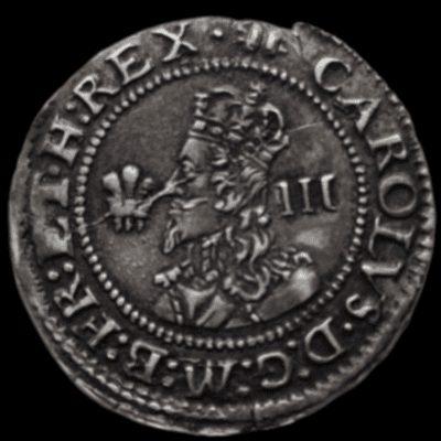 Charles I (1625-49), silver Threepence, Aberystwyth Mint (1638-42)