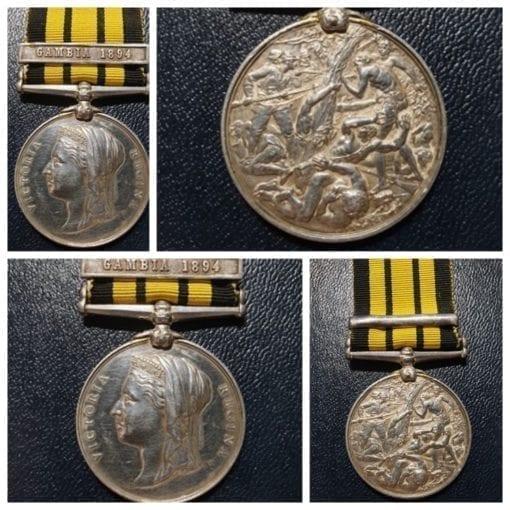 East & West Africa Medal, J Matthews P.O 1st Class, HMS Rayleigh