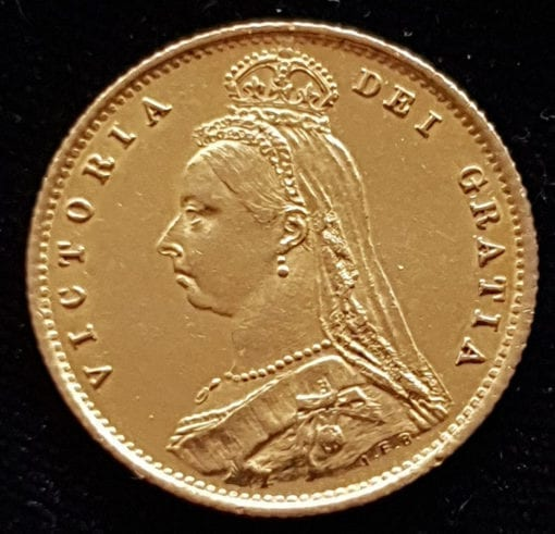 Victoria 1887 Half Sovereign, Jubilee Type