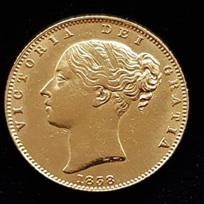 Victoria 1838 Sovereign