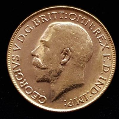 George V 1926 Perth Sovereign