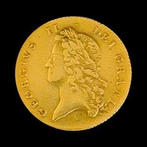 George II Two Guinea 1738