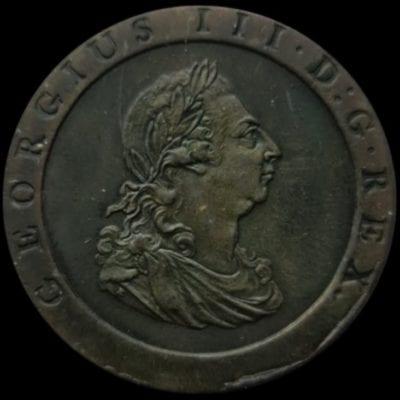 George III Penny Britannia