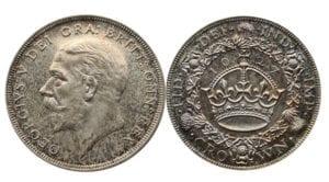 George V 1927 Proof Crown
