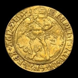 Henry VIII (1509-47), fine gold Angel of six shillings and eight pence, first coinage (1509-26)