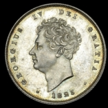 1825 Third Reverse Shilling