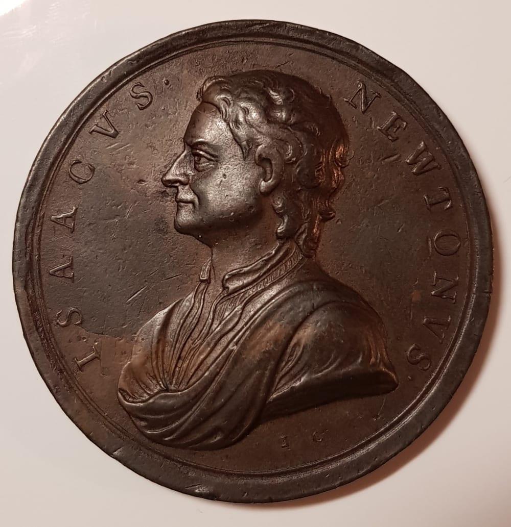 1726-27 Great Britain Death of Sir Isaac Newton Medal