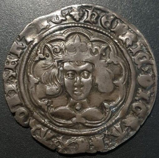 Henry VI Leaf Pellet Groat