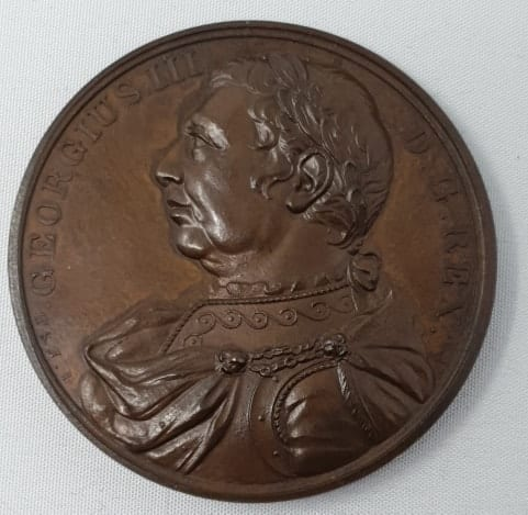 Medal commemorating the Death of King George III