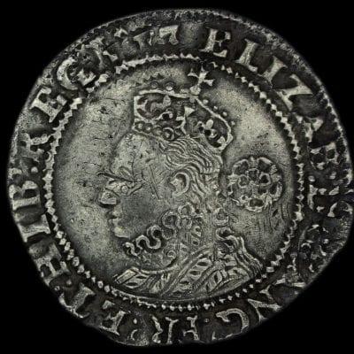 Elizabeth I Sixpence 1594