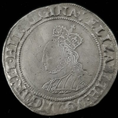 Elizabeth I Shilling Second Issue