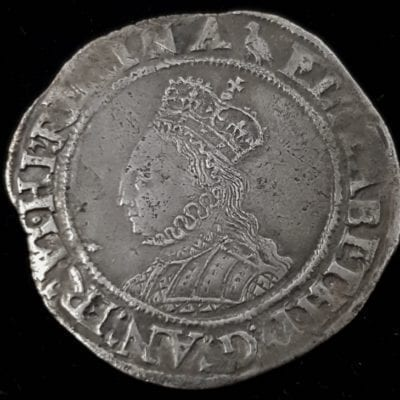 Elizabeth Ist Shilling 2nd Issue