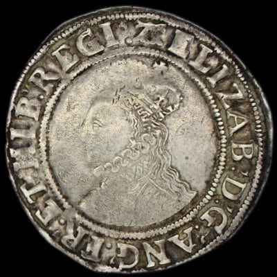 Elizabeth I Shilling Sixth Issue