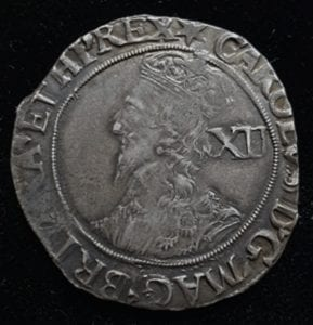Charles Ist Shilling, Group F