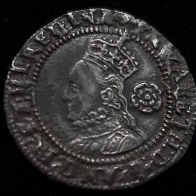Elizabeth I Threepence 1575 Third Issue