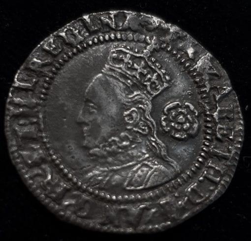 Elizabeth I Threepence 1575 Third Issue