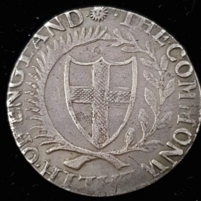 Commonwealth Shilling 1655