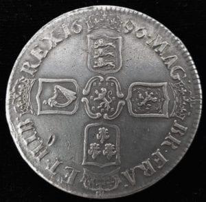 William III 1696 Crown