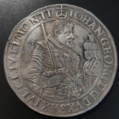 Germany Johaun Georg 1 Thaler 1630