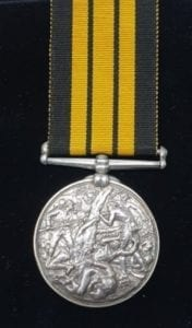 Ashantee Medal - Awarded to 693 Private J. Bartlett, 2nd Battalion, 23 Royal Welsh Fusiliers